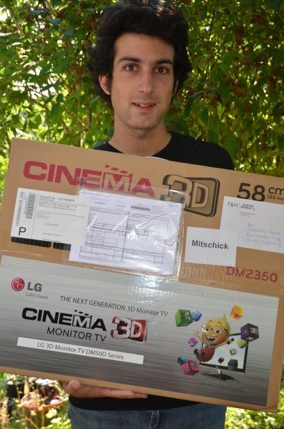 Cinema 3D Monitor und TV LG DM50D Series